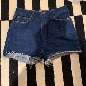 Re-Posh AGOLDE Denim Shorts